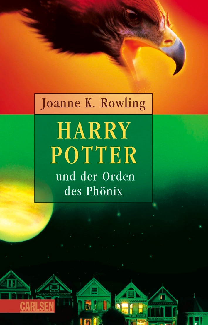 'Order of the Phoenix' German adult edition