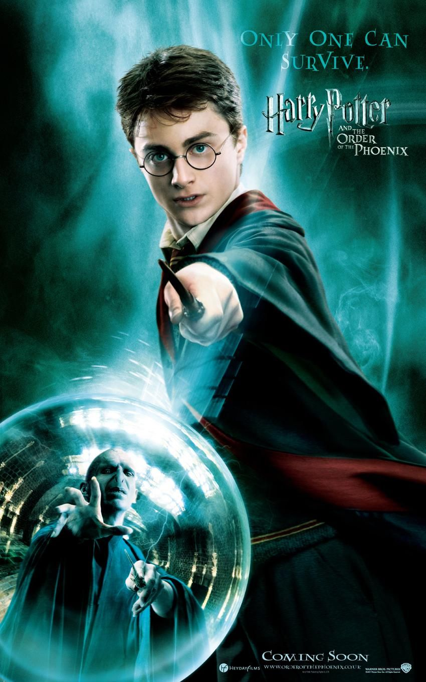 'Order of the Phoenix' Harry poster