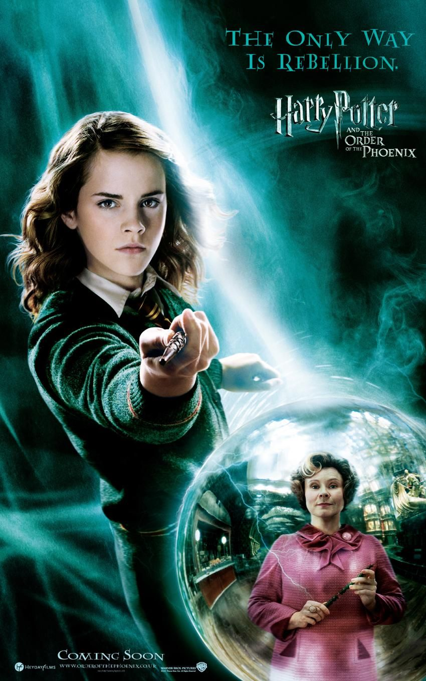 'Order of the Phoenix' Hermione poster