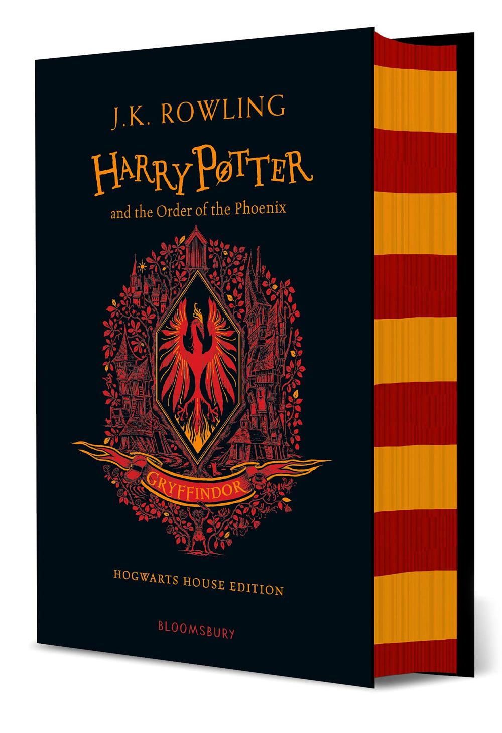 'Order of the Phoenix' house edition (Gryffindor) (hardback)