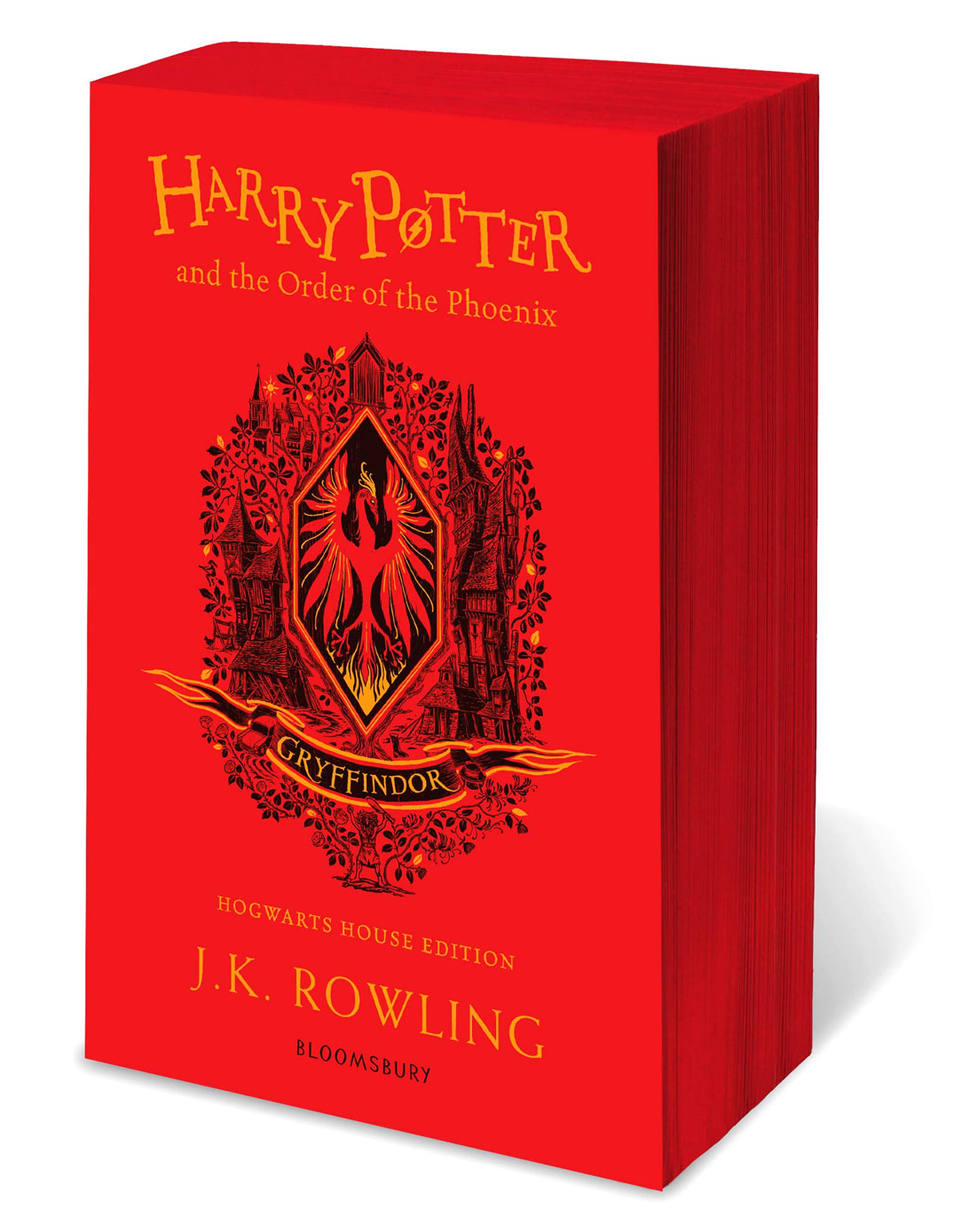'Order of the Phoenix' house edition (Gryffindor) (paperback)