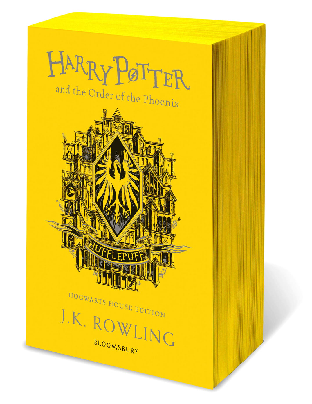 'Order of the Phoenix' house edition (Hufflepuff) (paperback)