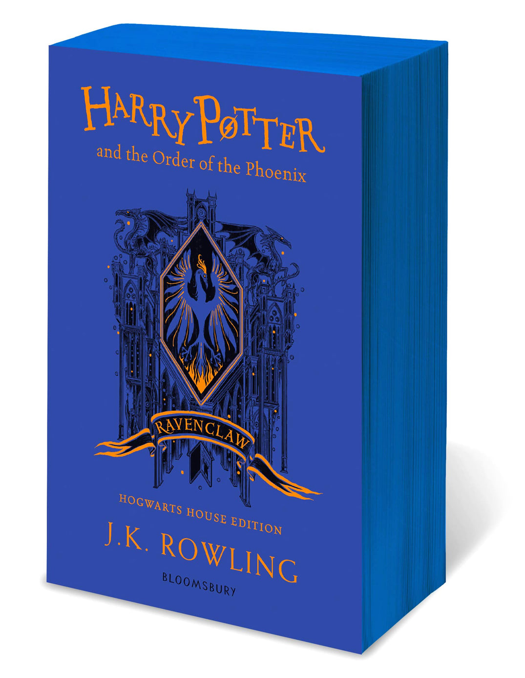 'Order of the Phoenix' house edition (Ravenclaw) (paperback)