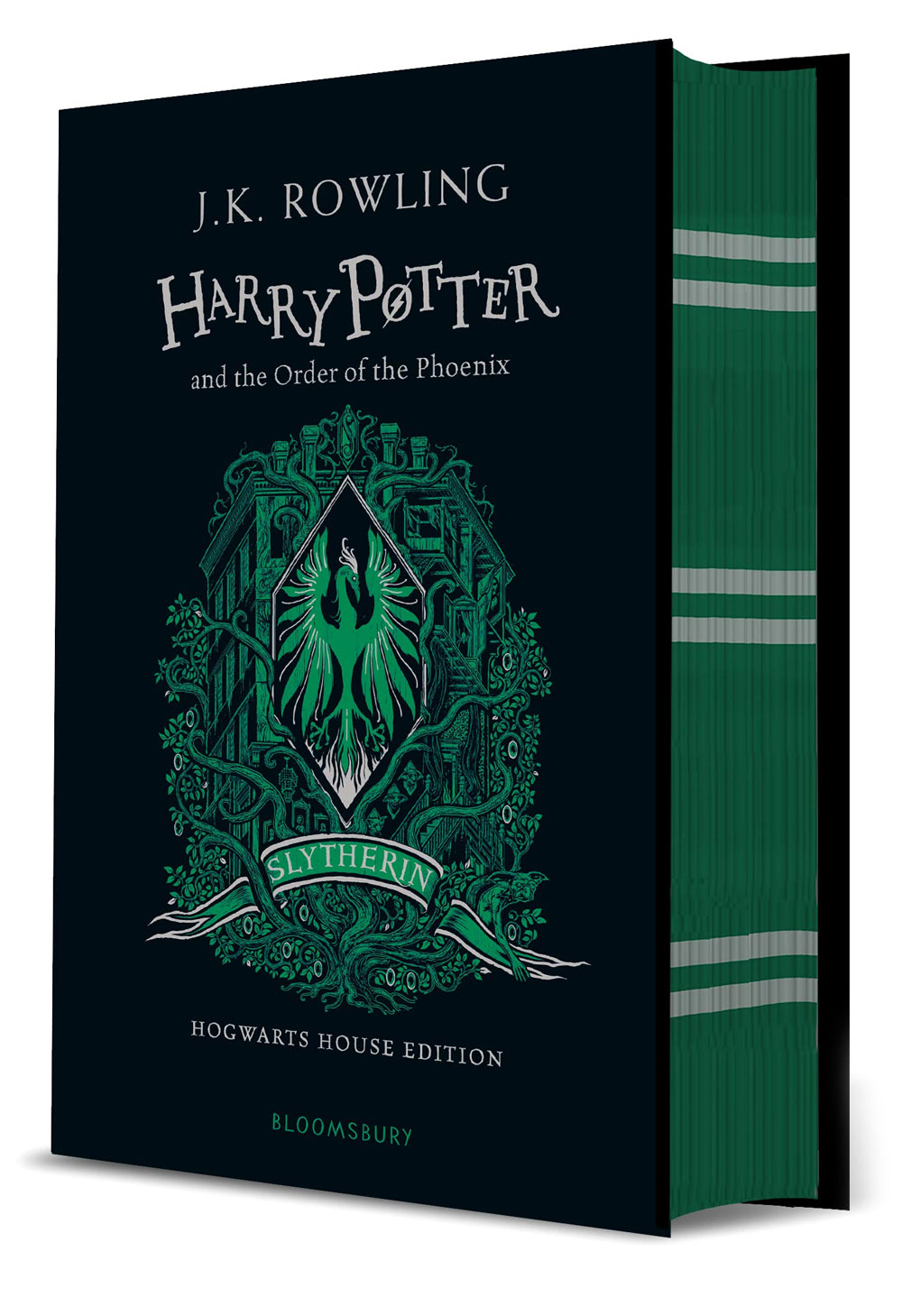 'Order of the Phoenix' house edition (Slytherin) (hardback)