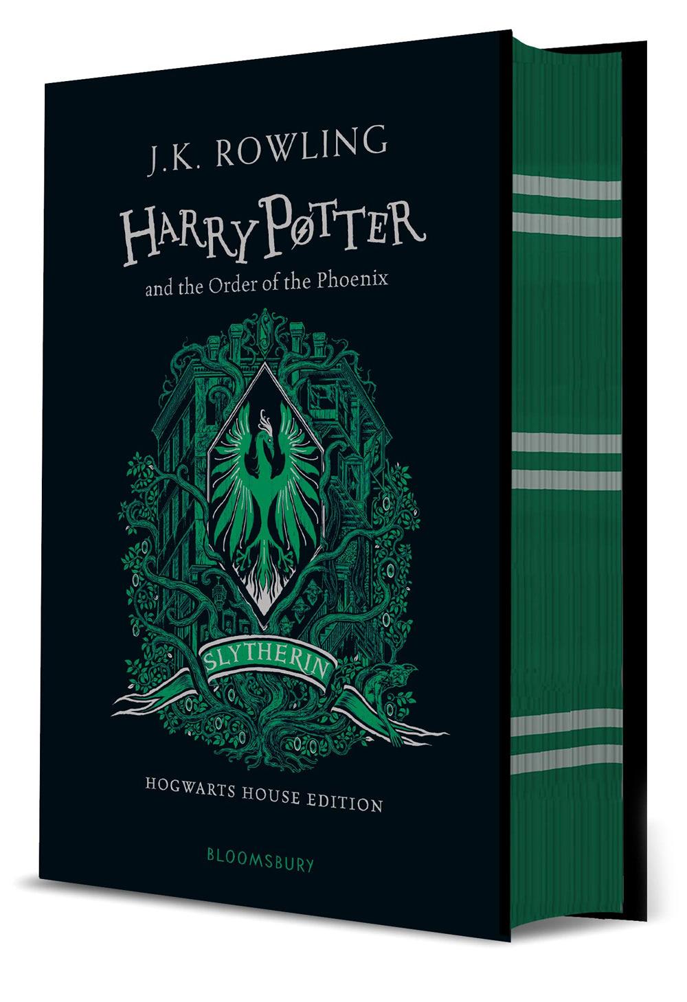 'Order of the Phoenix' house edition (Slytherin) (hardback)