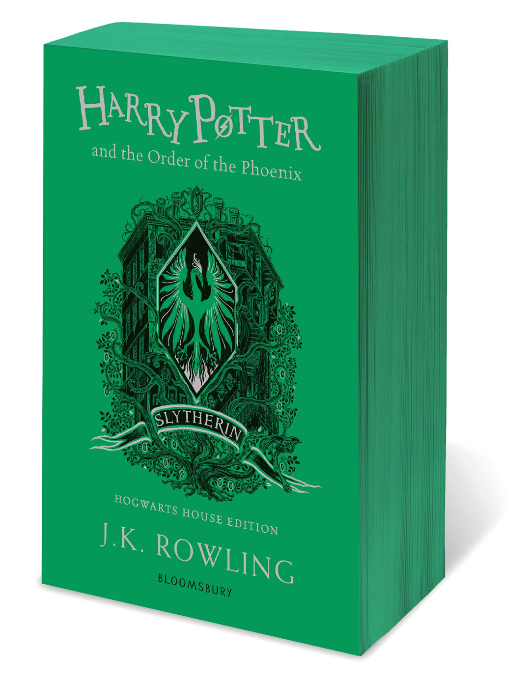 'Order of the Phoenix' house edition (Slytherin) (paperback)