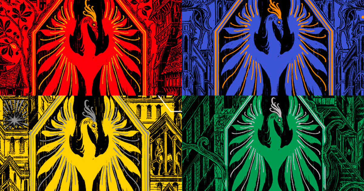 Bloomsbury unveil 'Order of the Phoenix' house editions