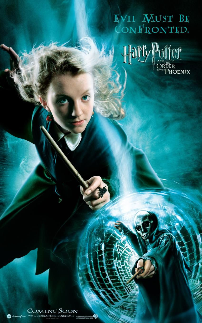 'Order of the Phoenix' Luna poster