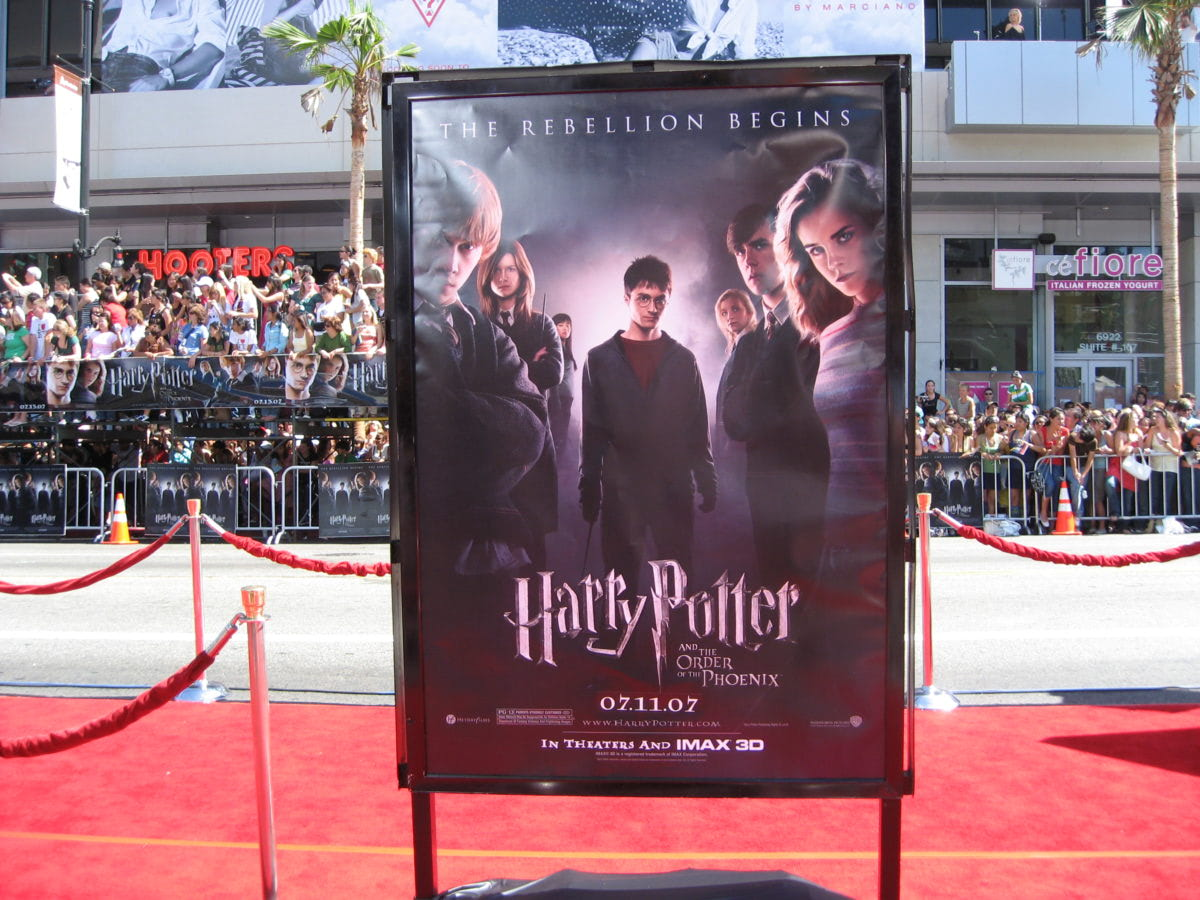 Los Angeles 'Order of the Phoenix' red carpet premiere