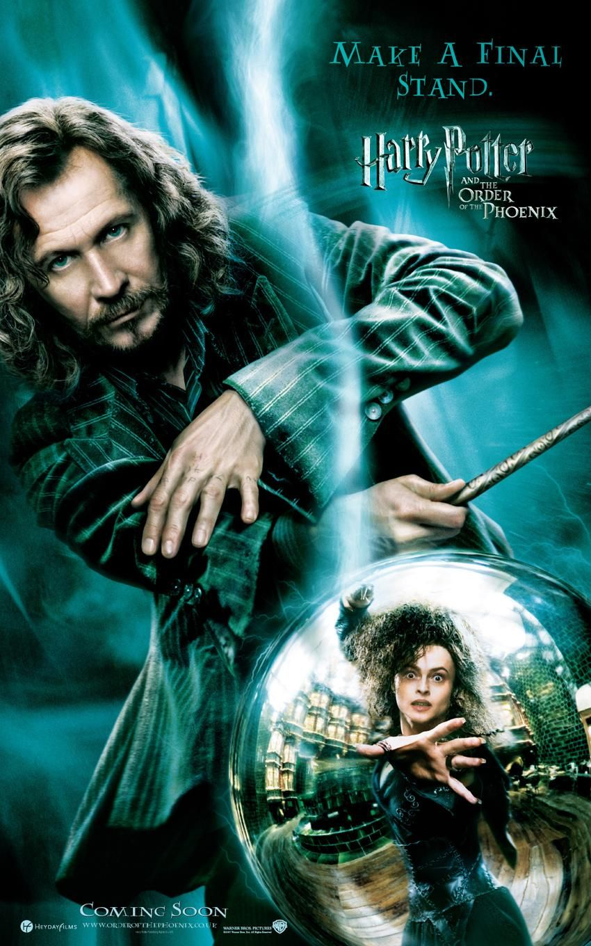 'Order of the Phoenix' Sirius poster