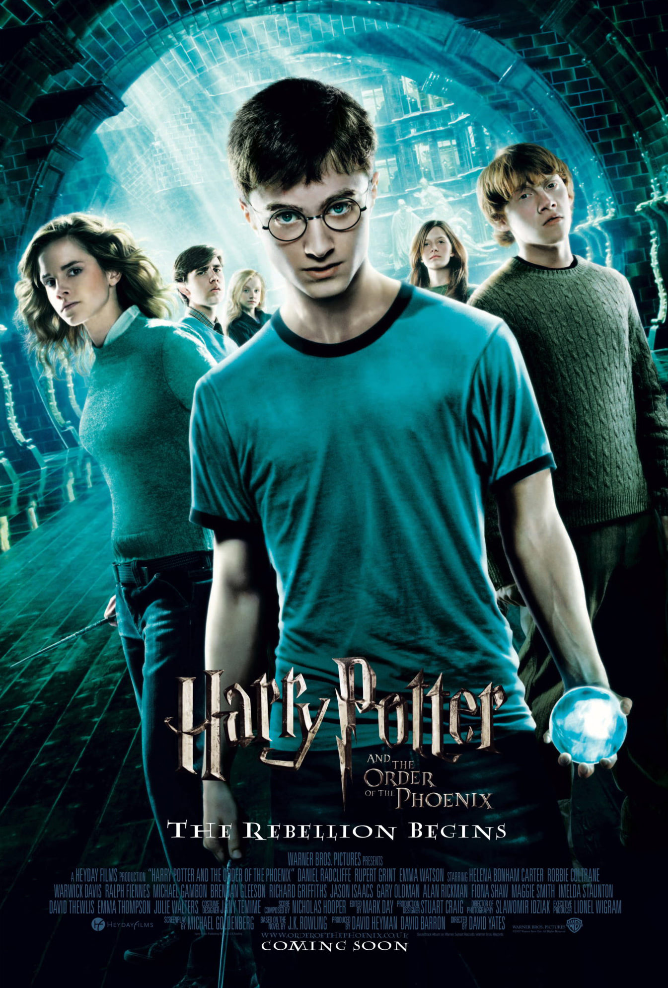 'Order of the Phoenix' theatrical poster #2