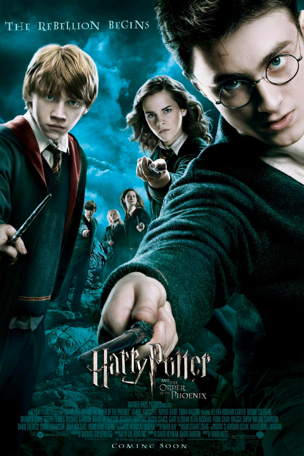 'Order of the Phoenix' theatrical poster #3