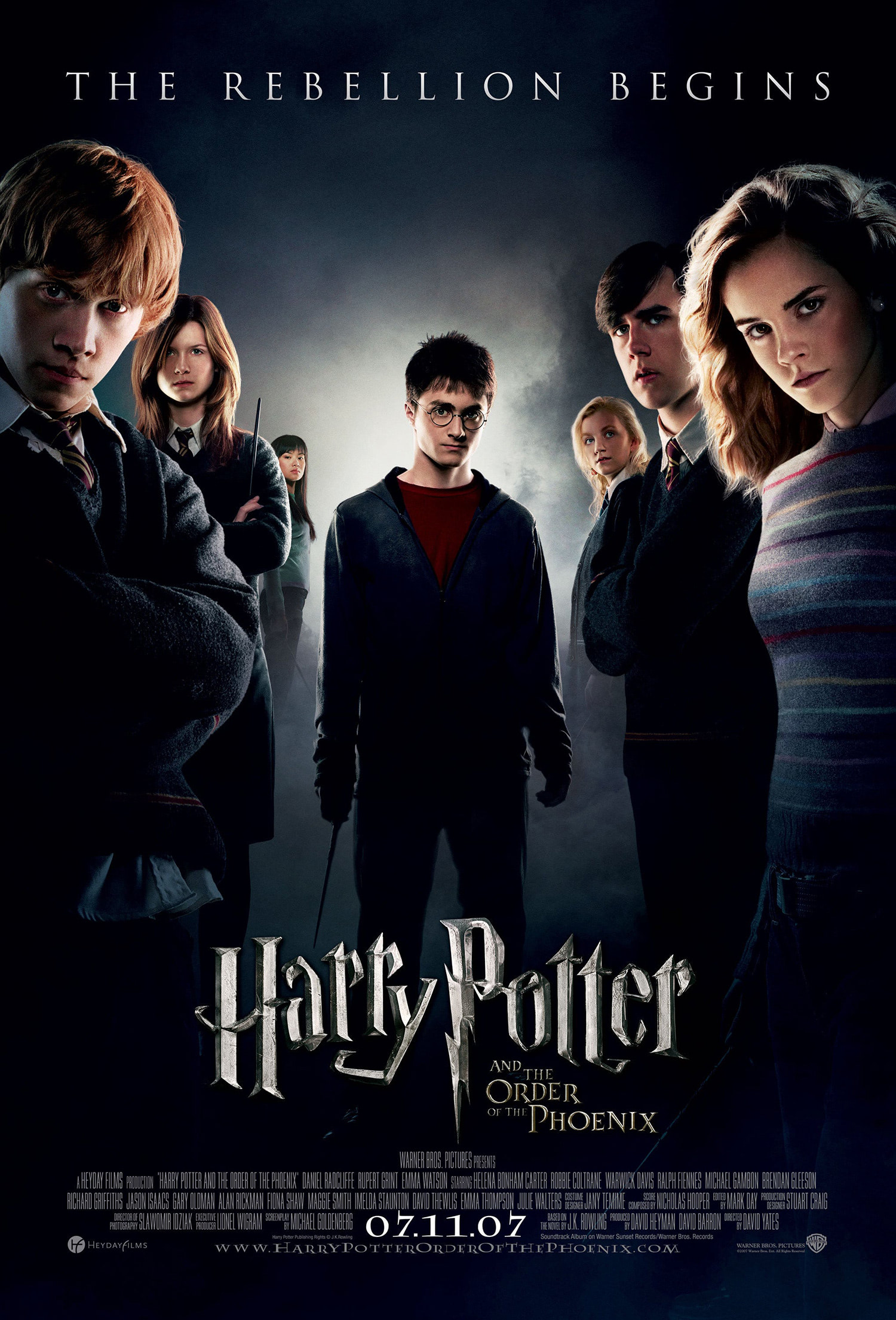 'Order of the Phoenix' theatrical poster