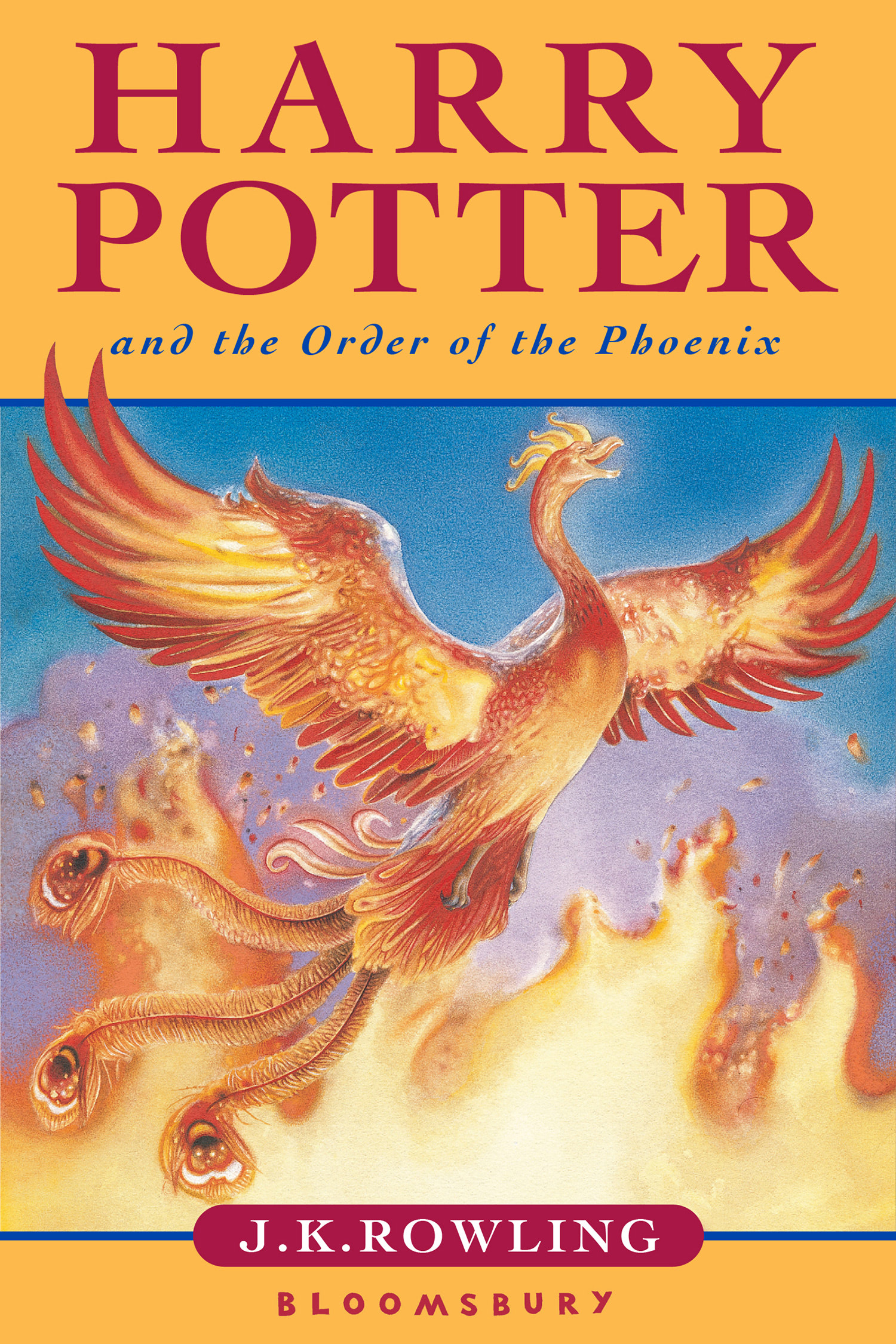 'Order of the Phoenix' UK children's edition