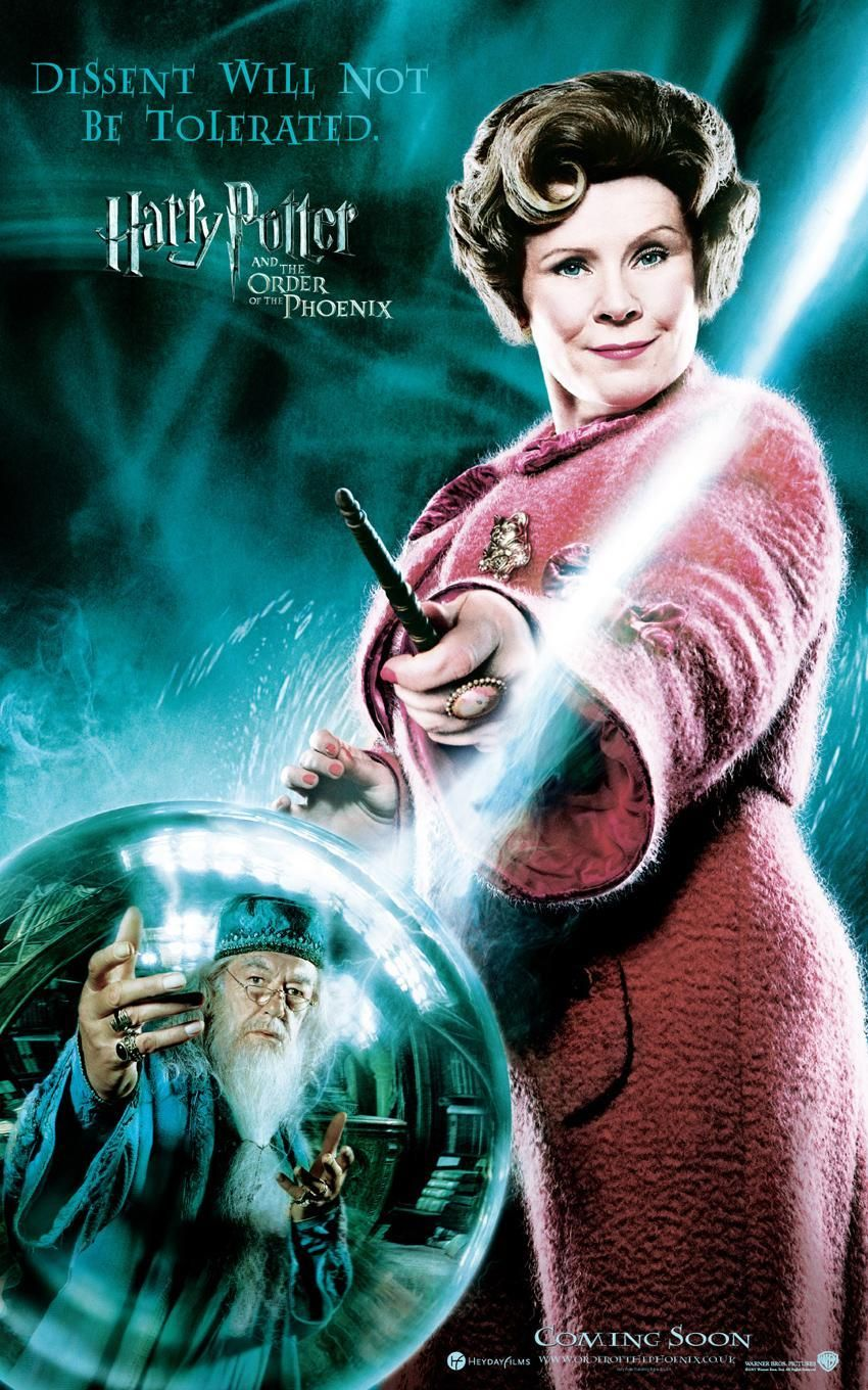 'Order of the Phoenix' Umbridge poster