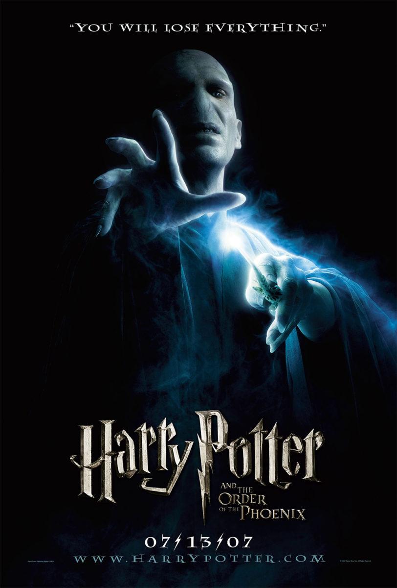 'Order of the Phoenix' Voldemort poster