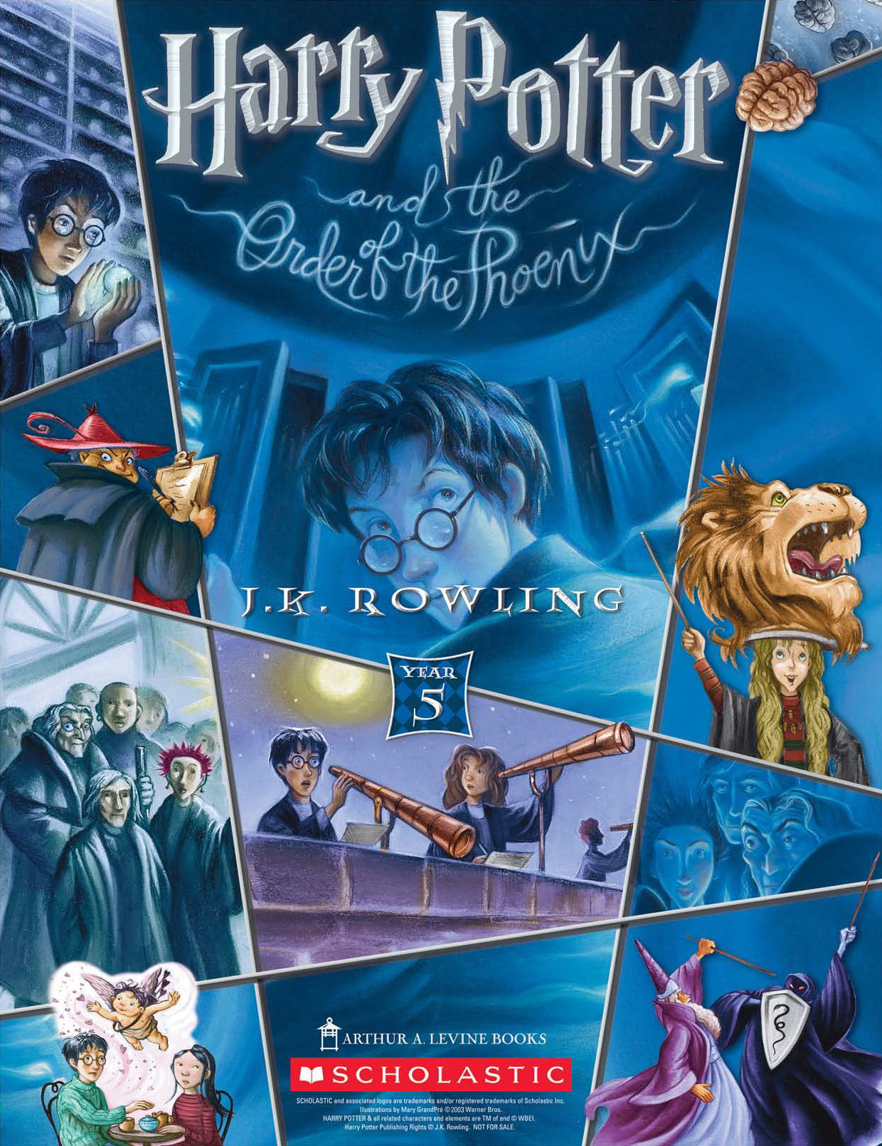 'Order of the Phoenix' (Year 5) Scholastic promotional poster