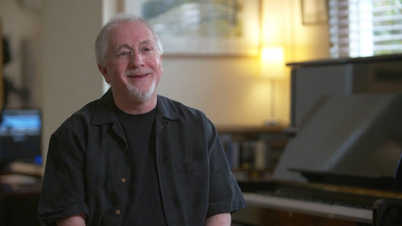 Patrick Doyle at the piano