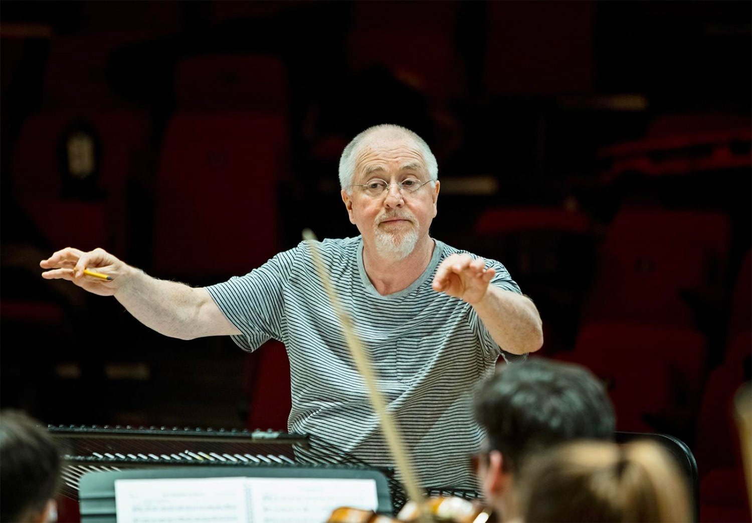 Patrick Doyle conducting