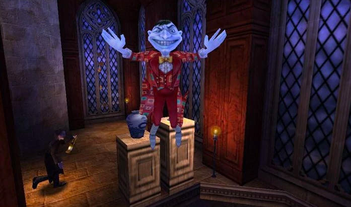 Peeves (Sorcerer's Stone video game)