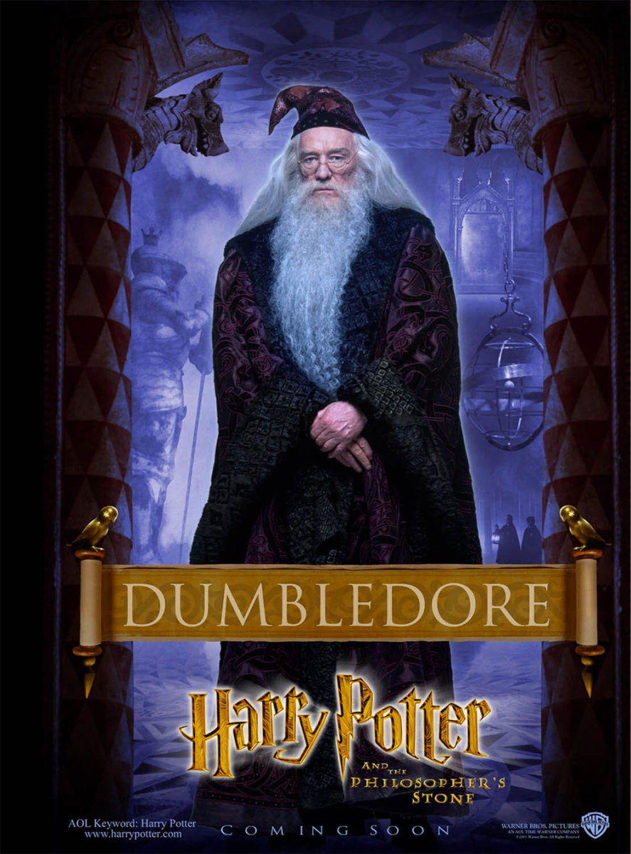 'Philosopher's Stone' Dumbledore poster