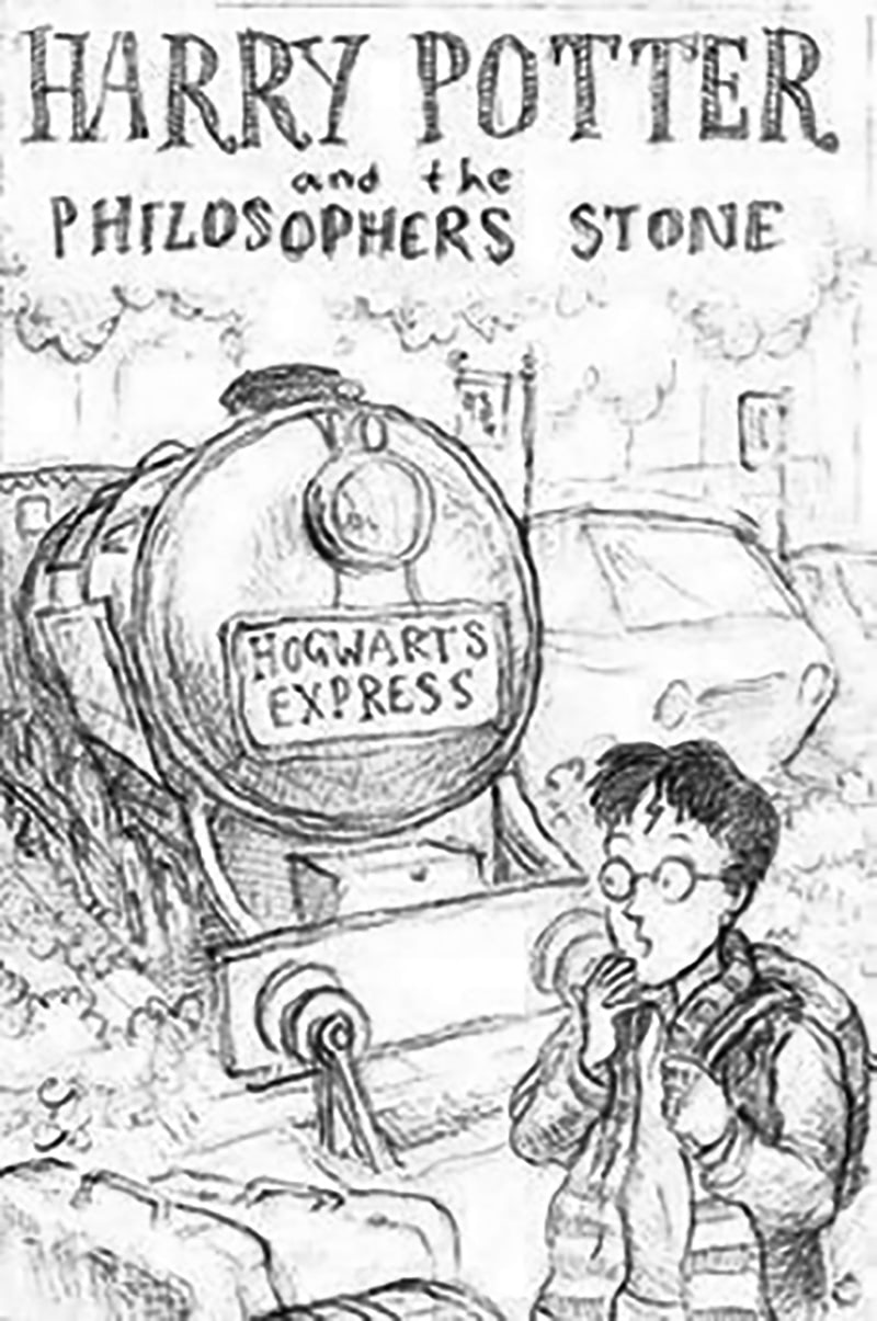 'Philosopher's Stone' cover artwork original sketch (Thomas Taylor)