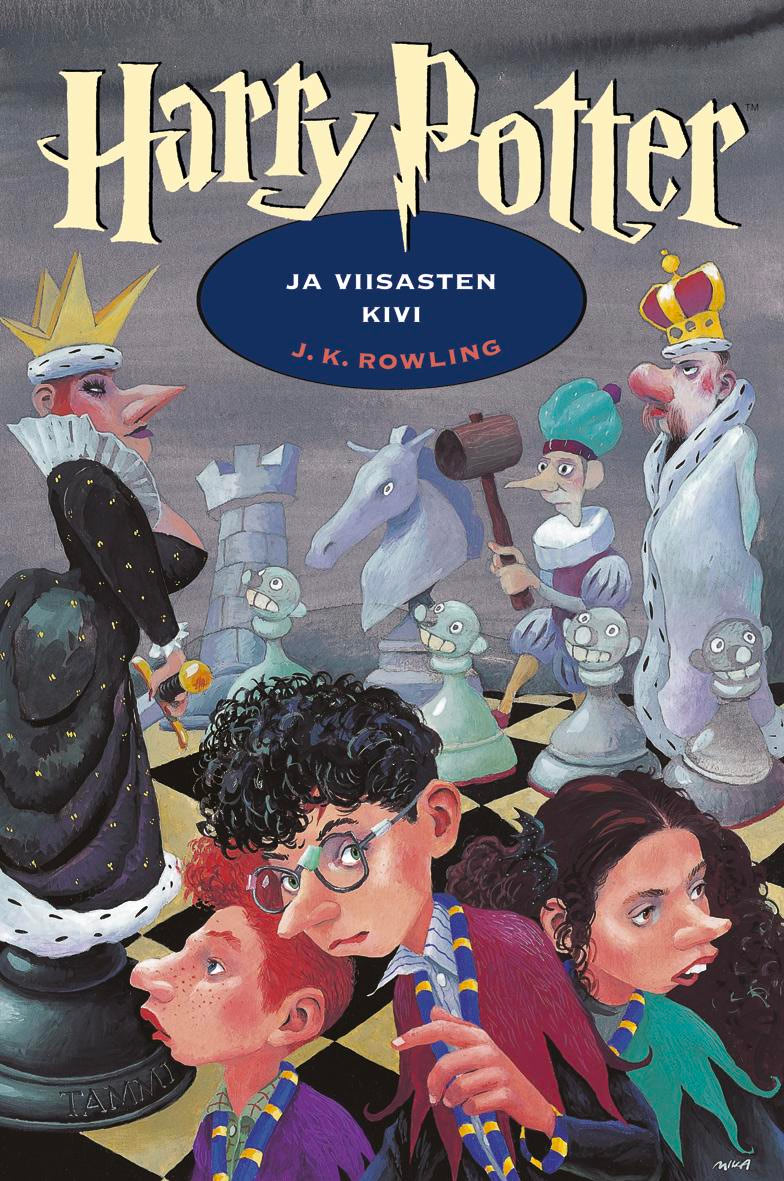'Philosopher's Stone' Finnish edition