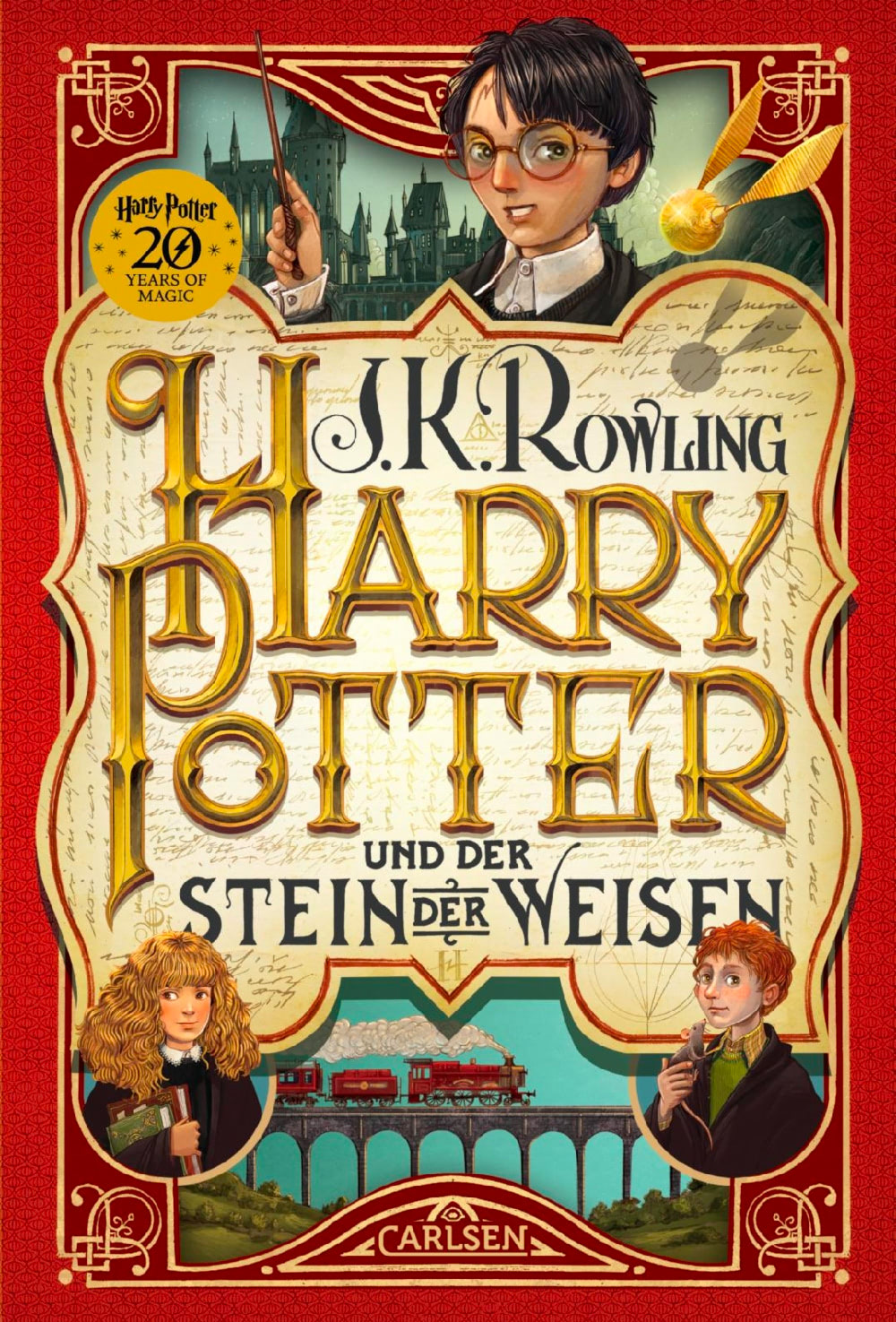 'Philosopher's Stone' German '20 Years of Magic' edition