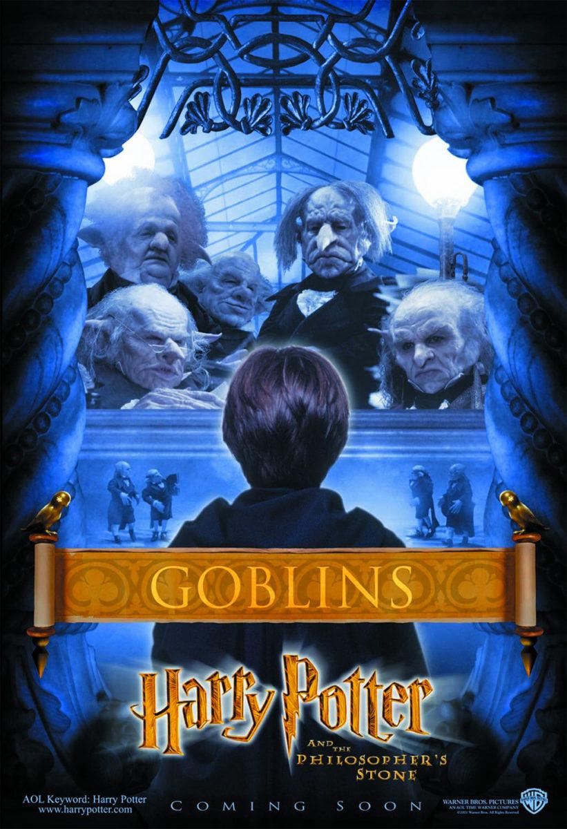 'Philosopher's Stone' Goblins poster