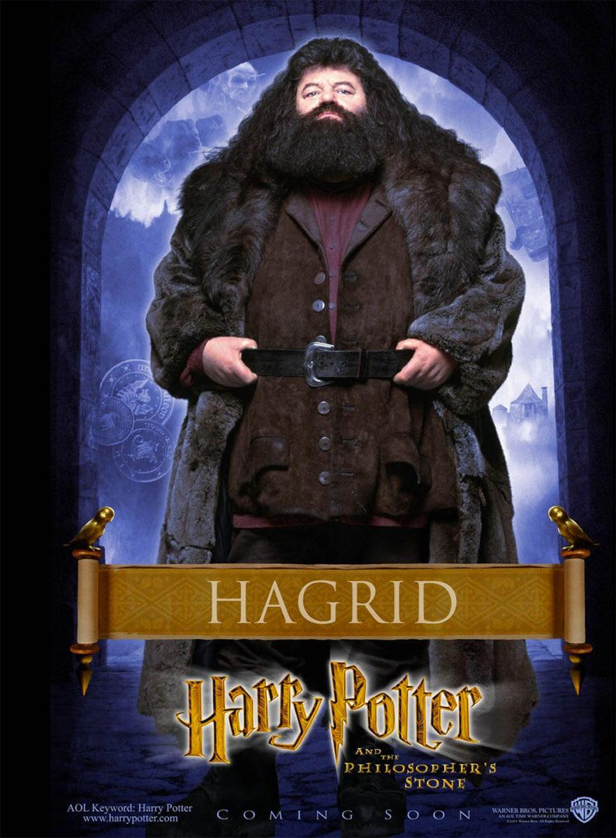 'Philosopher's Stone' Hagrid poster