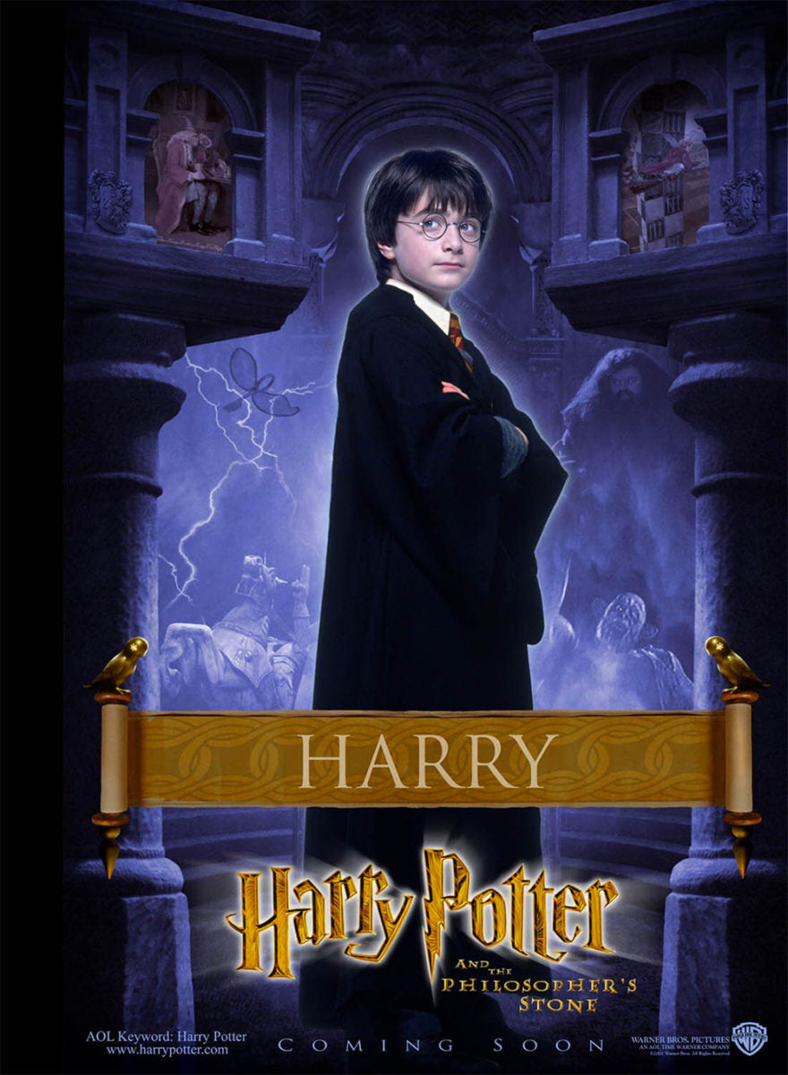 'Philosopher's Stone' Harry poster