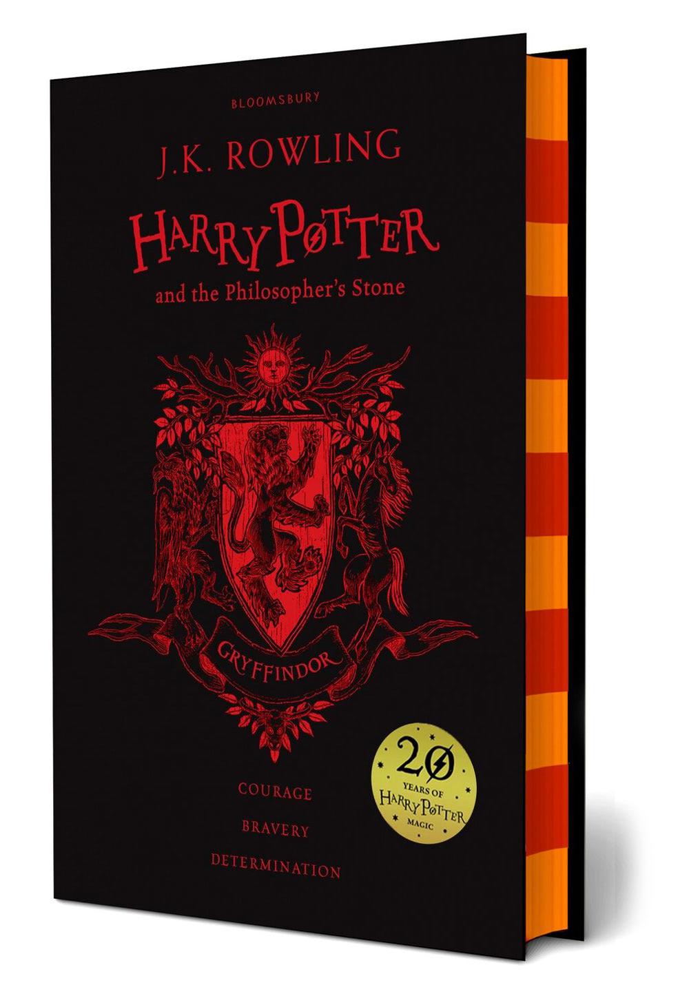 'Philosopher's Stone' house edition (Gryffindor) (hardback)