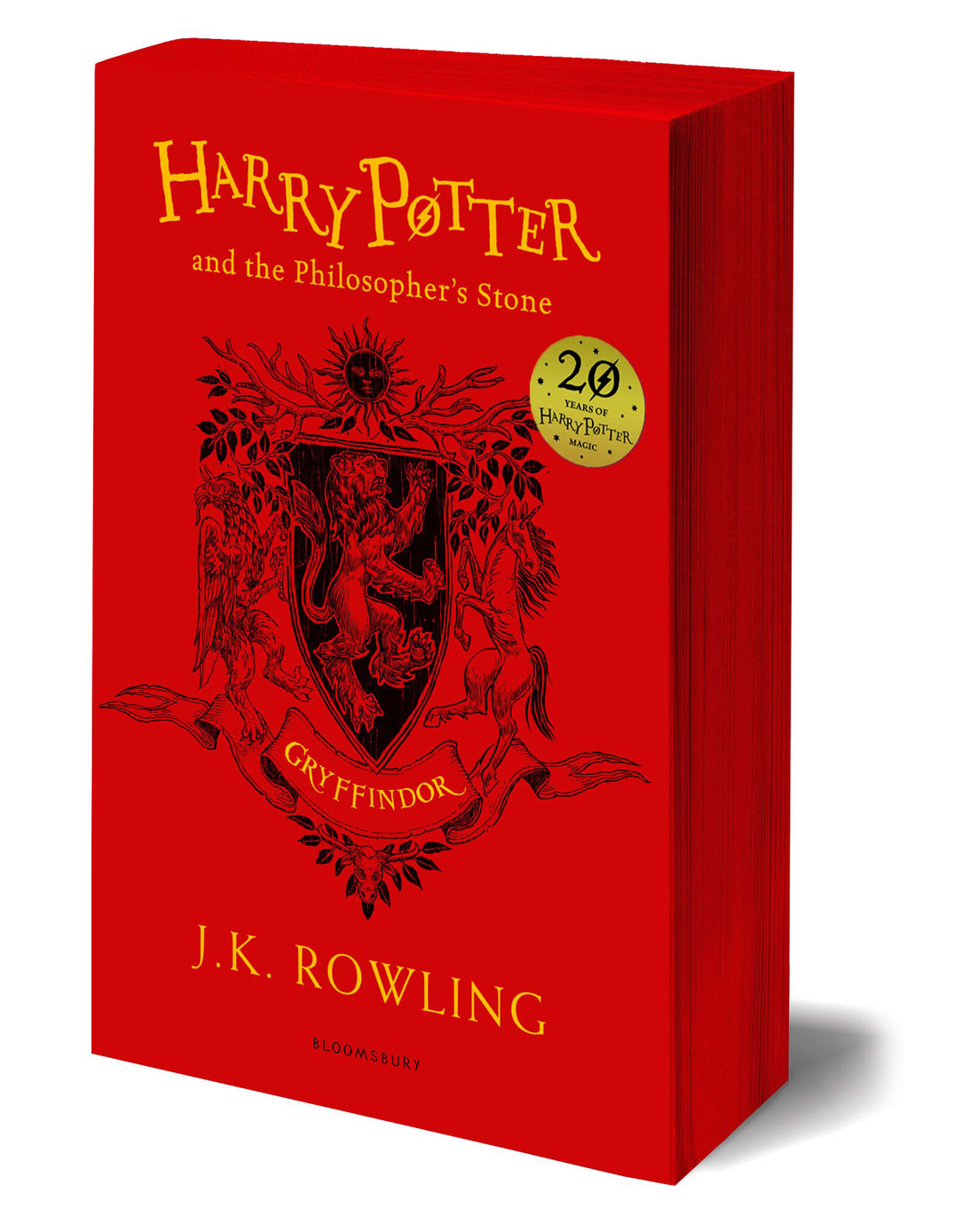 'Philosopher's Stone' house edition (Gryffindor) (paperback)