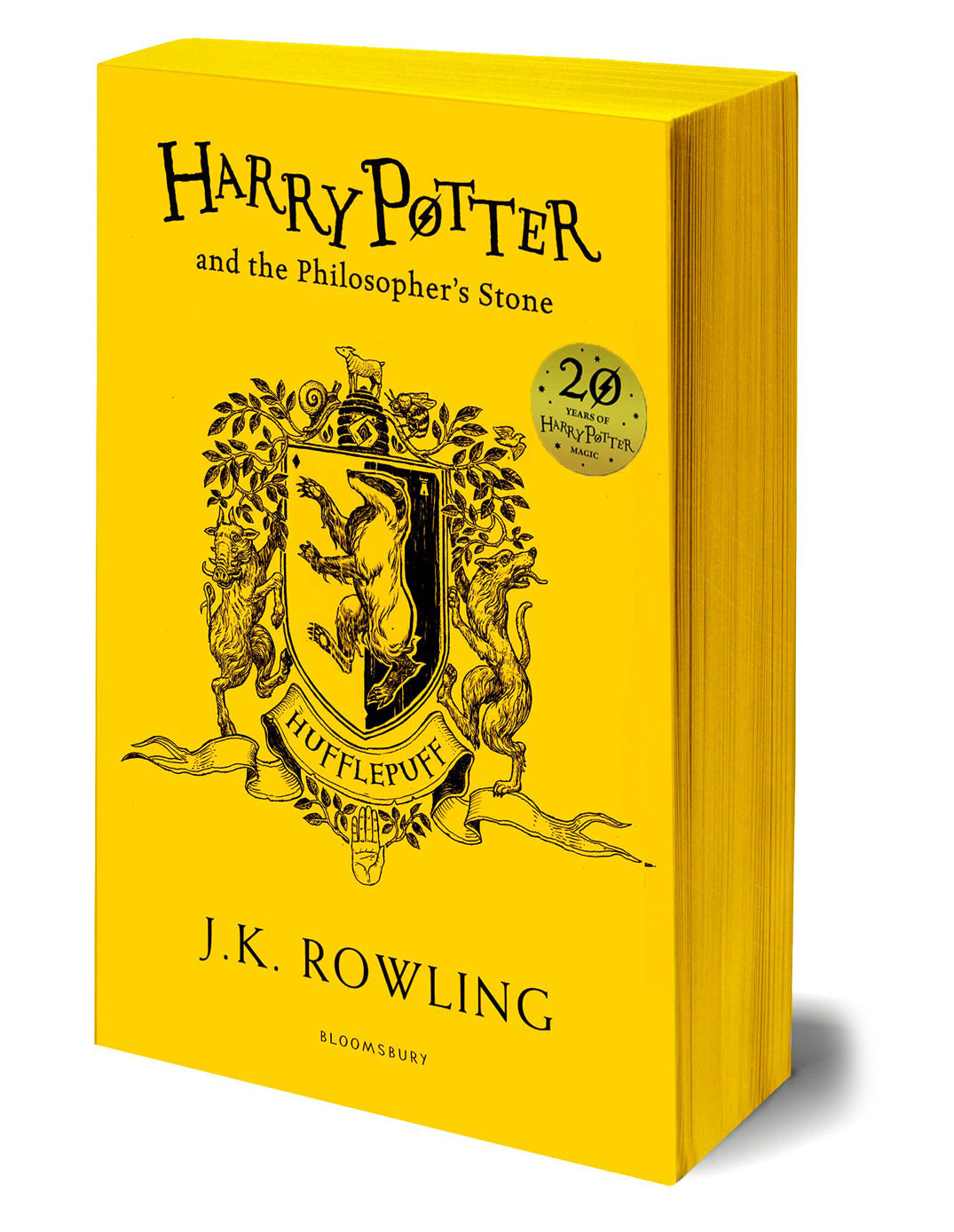 'Philosopher's Stone' house edition (Hufflepuff) (paperback)