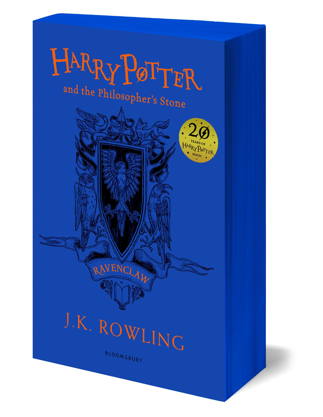 'Philosopher's Stone' house edition (Ravenclaw) (paperback)
