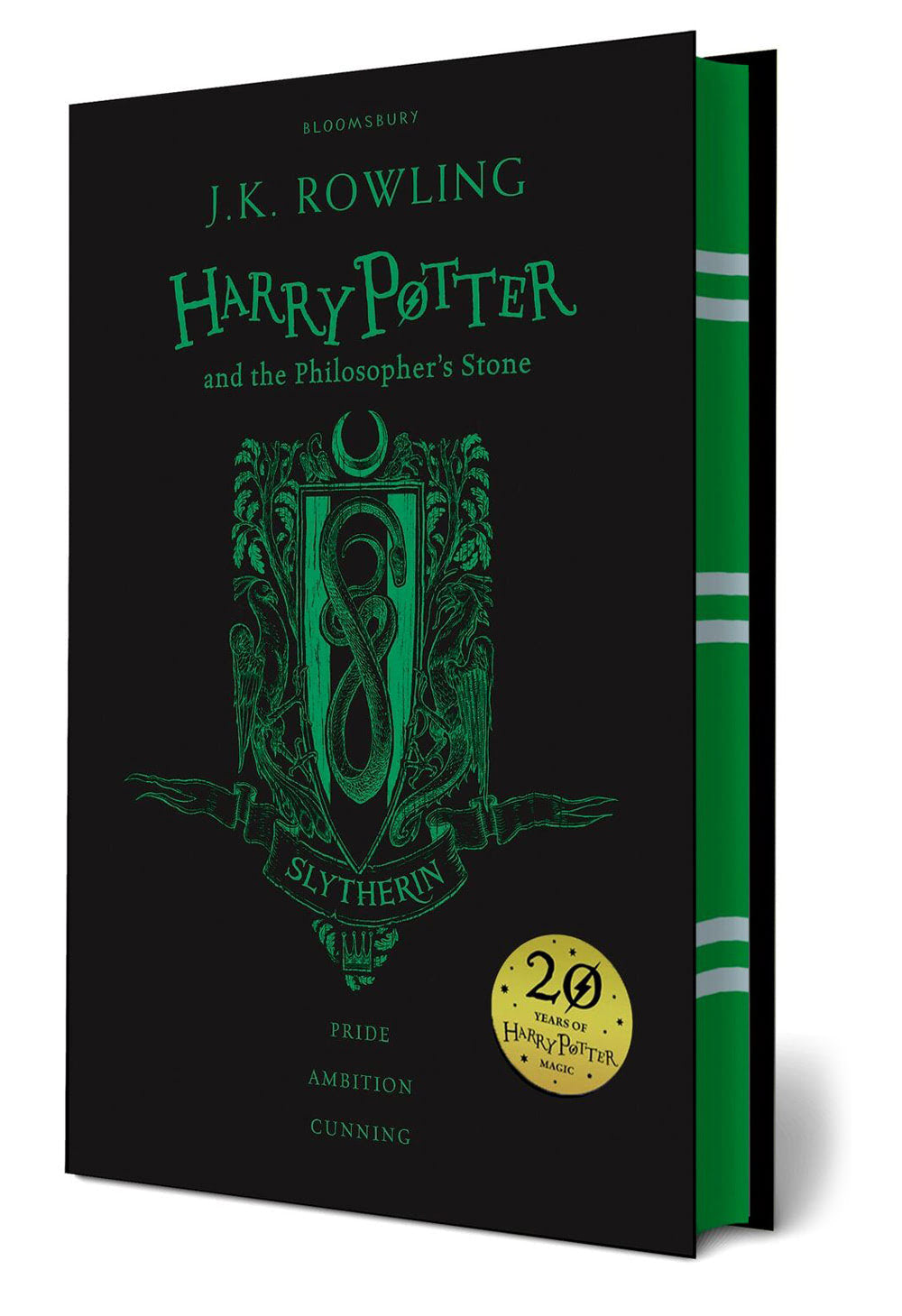 'Philosopher's Stone' house edition (Slytherin) (hardback)