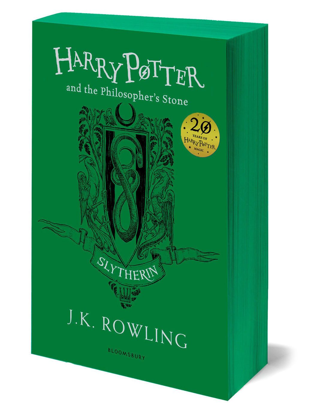 'Philosopher's Stone' house edition (Slytherin) (paperback)