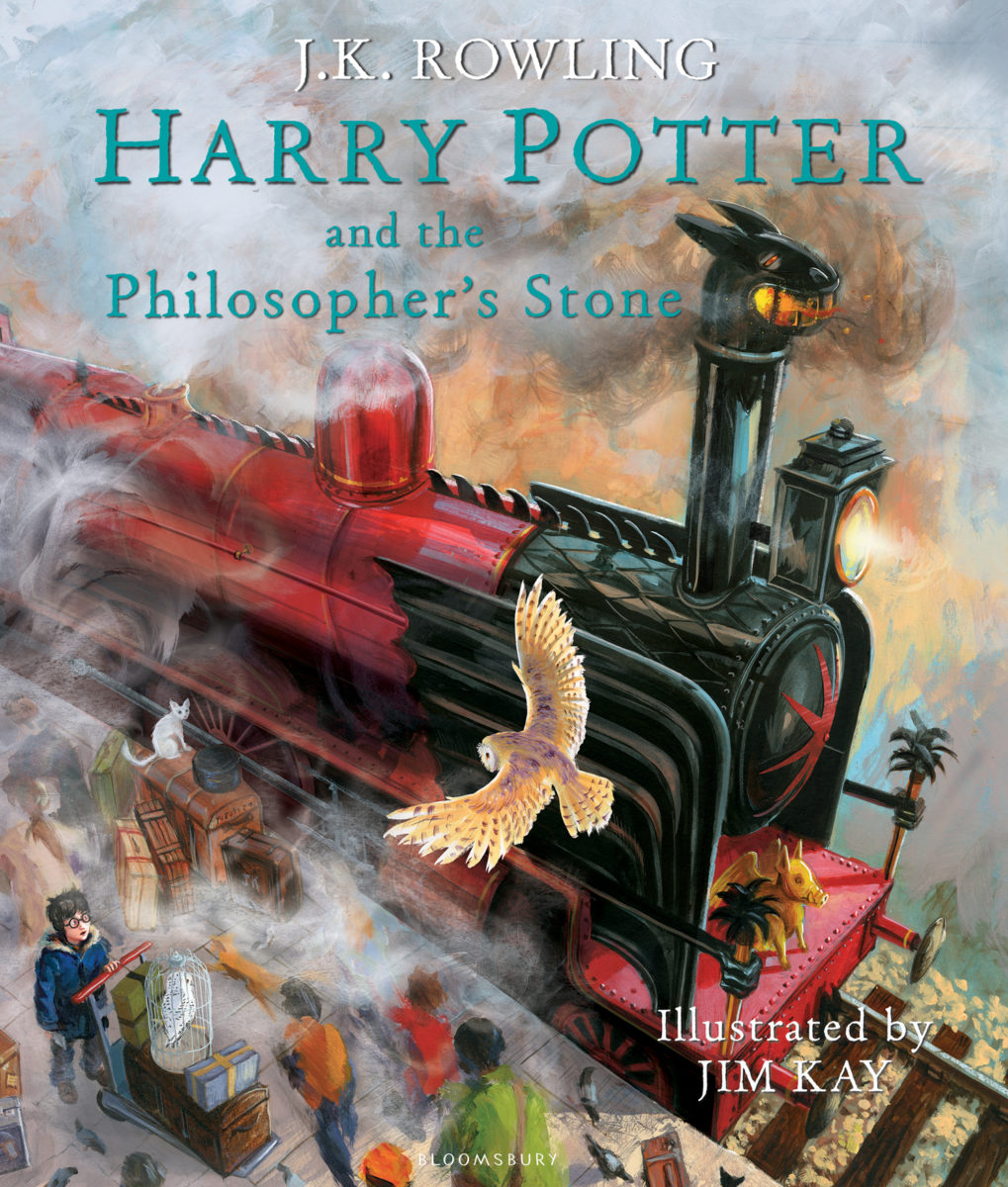 'Philosopher's Stone' illustrated edition