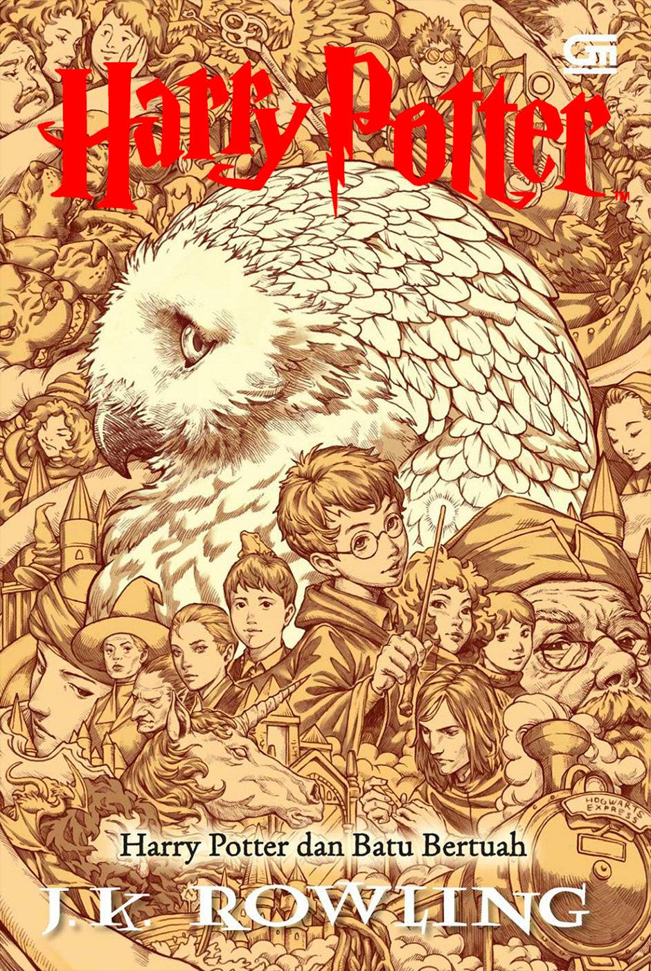 'Philosopher's Stone' Indonesian edition