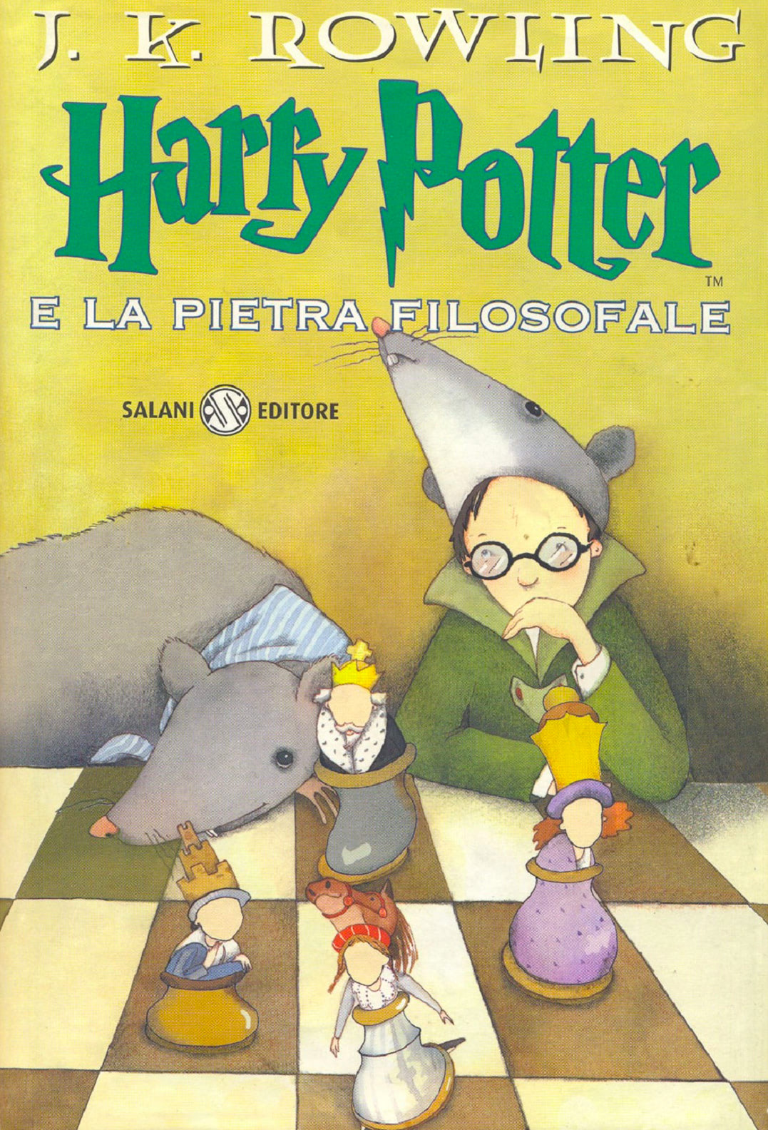 'Philosopher's Stone' Italian edition