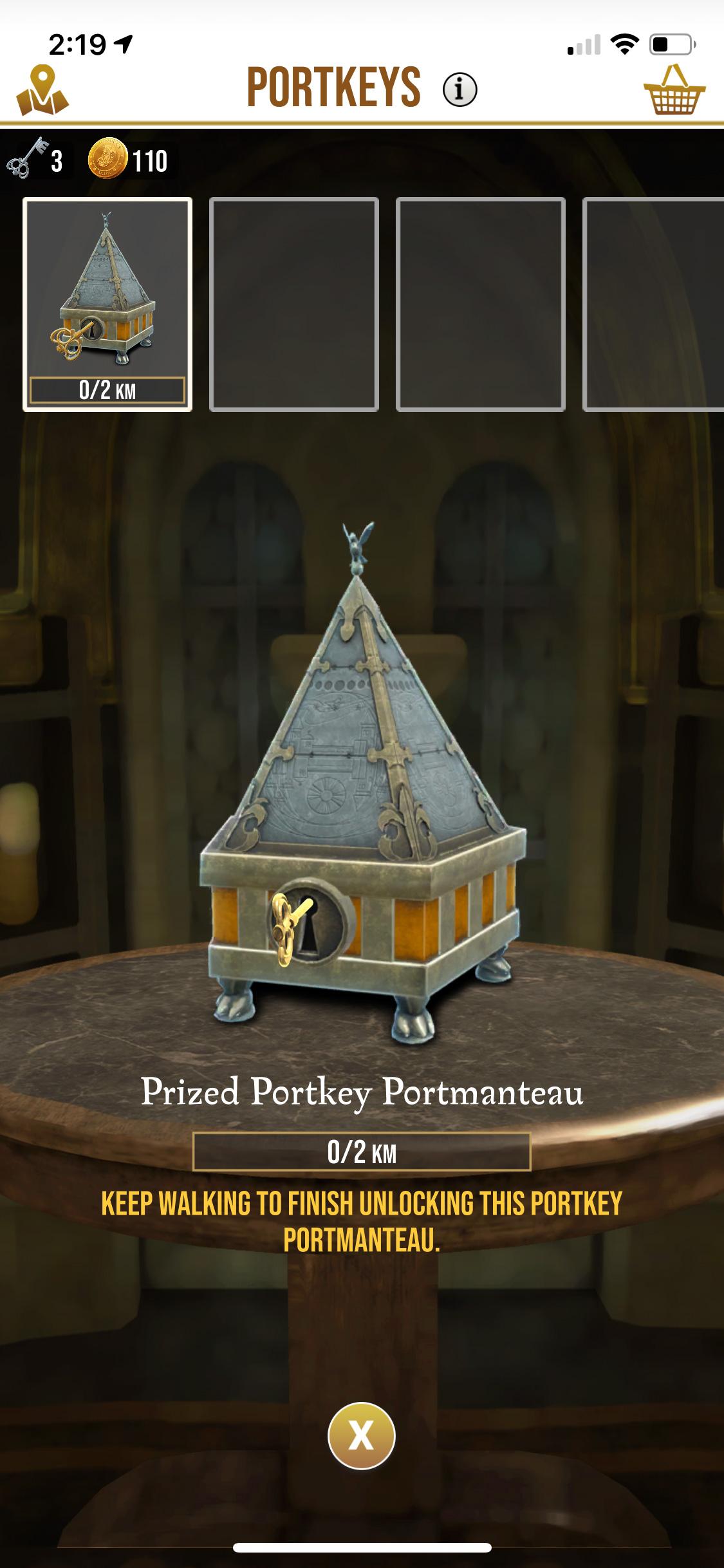 Portkey Portmanteau (Wizards Unite)