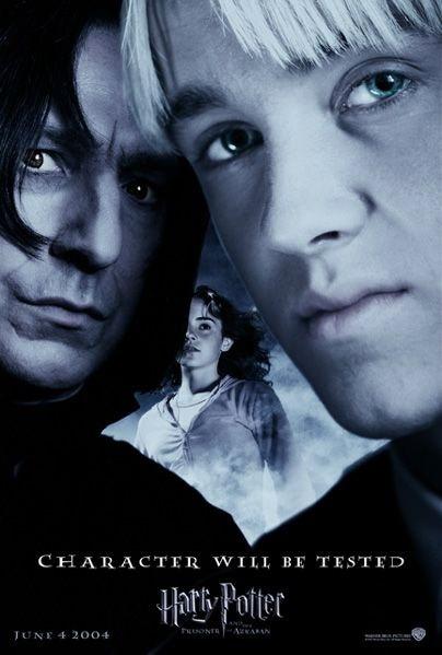 'Prisoner of Azkaban' 'Character Will Be Tested' poster