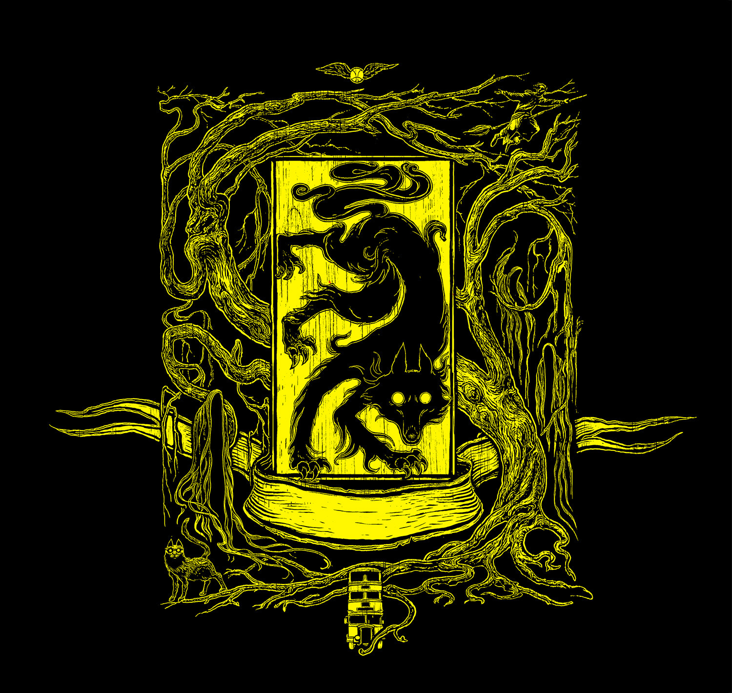 'Prisoner of Azkaban' house edition crest (Hufflepuff)