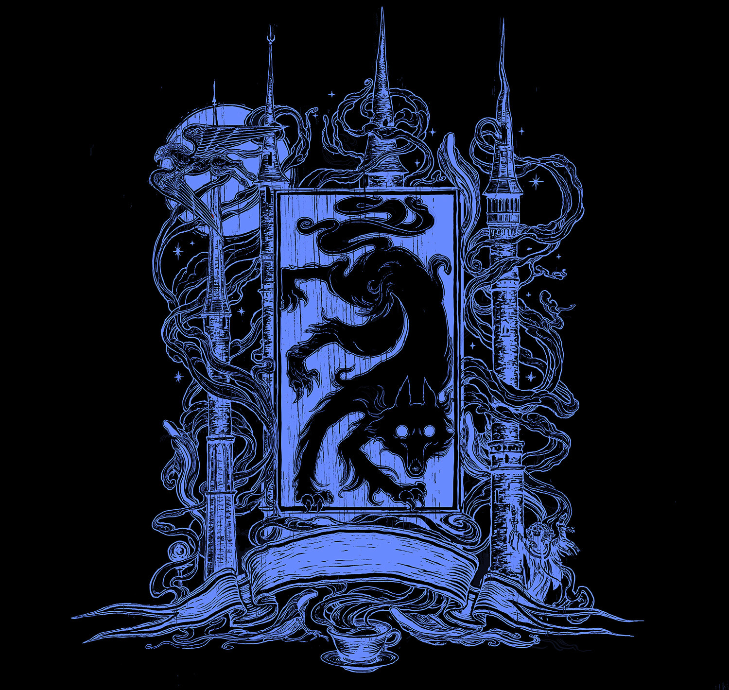'Prisoner of Azkaban' house edition crest (Ravenclaw)