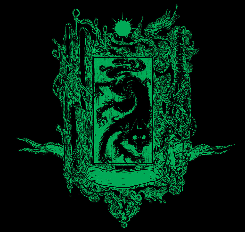 'Prisoner of Azkaban' house edition crest (Slytherin)