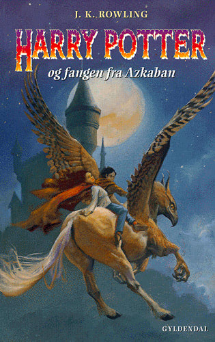 'Prisoner of Azkaban' Danish edition