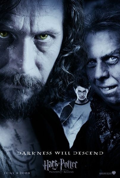 'Prisoner of Azkaban' 'Darkness Will Descend' poster