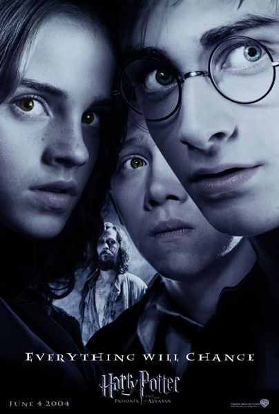 'Prisoner of Azkaban' 'Everything Will Change' poster