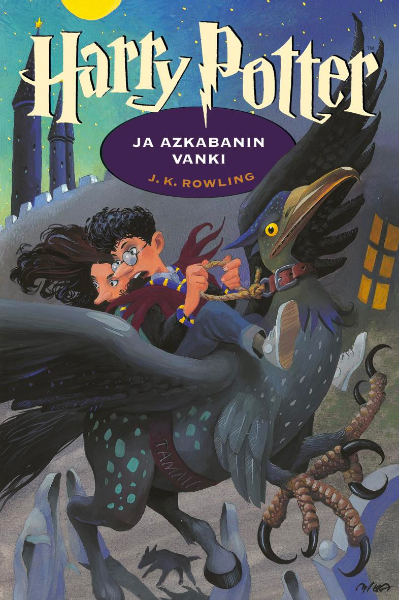 'Prisoner of Azkaban' Finnish edition