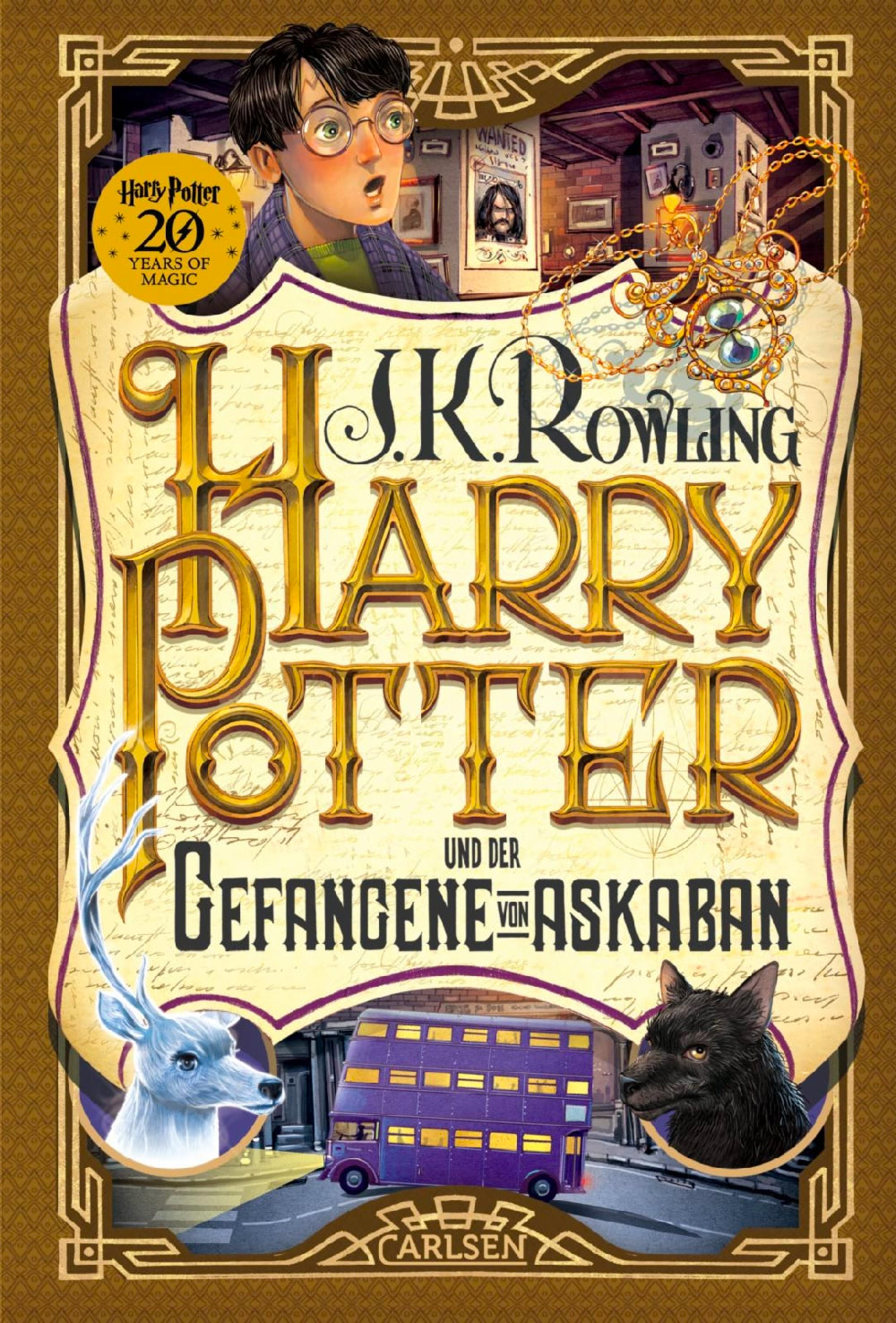 'Prisoner of Azkaban' German '20 Years of Magic' edition